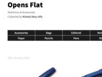 Opens Flat
