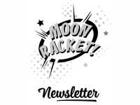 Moon Racket! Newsletters Logo