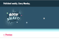 Moon Racket! Website Colour Tweaks
