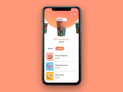 Biji Coffee App UI motion motion animation branding interaction coffe app mobile app ux ui dribbble design