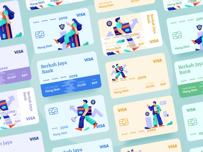 Debit Cards - Exploration 👋 minimalist typography debit card finance app finance illustration dribbble ux ui design