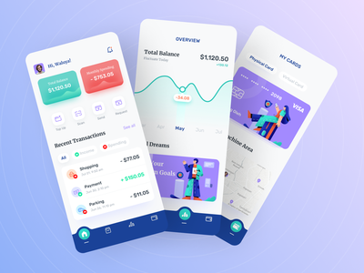 Money Management App 💰 app moneysaver interfacedesign money management money app money mobile app ux ui design
