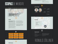 Ecopax Website