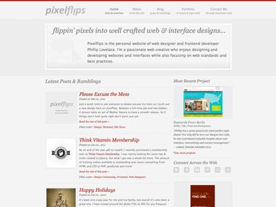 Pixelflips Relaunch relaunch update redesign