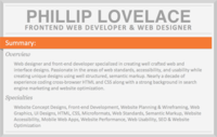HTML5 & Responsive Project