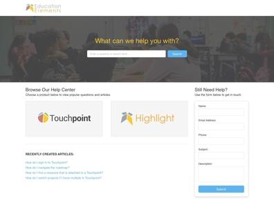 EE Support Website