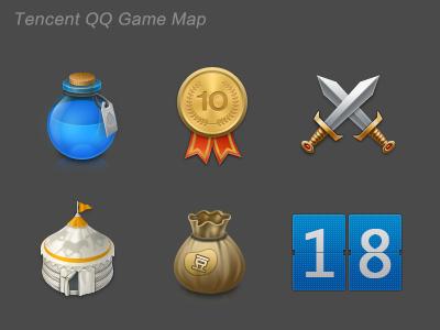 Qq game map
