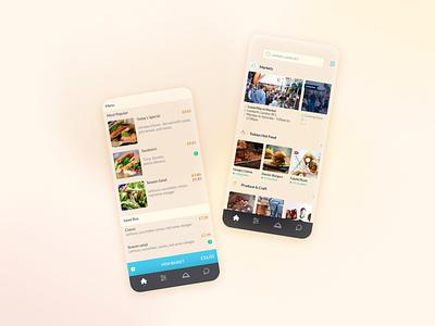 Food Takeout Services App ux ui design ui design mobileapp mobile ui mobile apps blur graphic design branding 2021 interface visual design design minimal mobile app application app ux ui