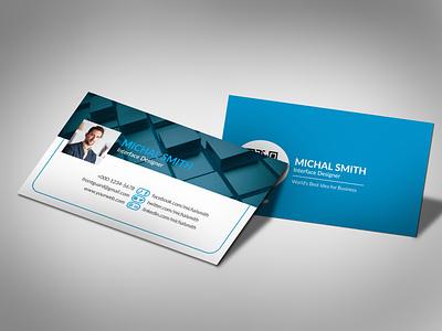 Social Media Business Card socialmedia flyers template unique professional web modern logo illustration graphic flyer design creative corporate business card branding