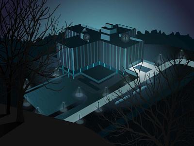 Stranger Things paranormal danger laboratory mystery strangerthings illustration artwork