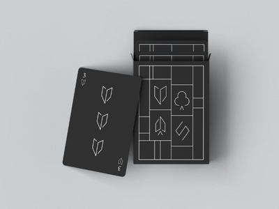Playing cards entertainment fun card packaging play black playing cards packaging game card game cards vector illustration minimal graphic design design