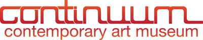 Continuum Contemporary Art Museum Logo continuum logo art direction