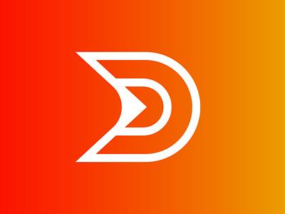 DouArts - Logo Design explore a d red orange logodesign design logo