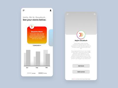 Ecommerce App UI Design - Iphone X stores ecommerce shop wireframe ecommerce app ecommerce branding design 4k