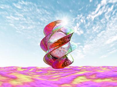 Colorful 3D Render Wallpaper 3dart colorful bright 3ddesign wallpaper blender3d abstract 3d 4k design 3d art