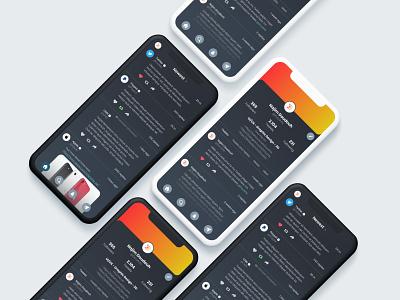 Twitter Profile & Home Page - UI Design branding twitter feed tweet twitter web app icon typography logo ui design