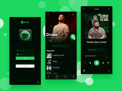 Spotify UI/UX Design Concept interfacedesign spotify interface design spotify interface app design icon douarts ux design uxdesign ux  ui uxui ux ui design uidesign ui  ux uiux ui spotify cover spotify