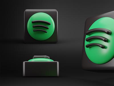 Spotify 3D Logo/Icon - Process Video 3d logo spotify 3d logo 3d music icon music social media 3d icon spotify icon spotify 3d icon spotify 3d blender 3d blender3d blender 3dsmax 3d art 3d branding logo douarts 4k spotify