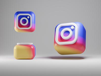 Instagram 3D Logo/Icon - Process Video process video youtube ig icon ig icon instagram 3d icon cgi 3d art 3d icon instagram icon instagram app logo branding vector douarts illustration design 4k ui