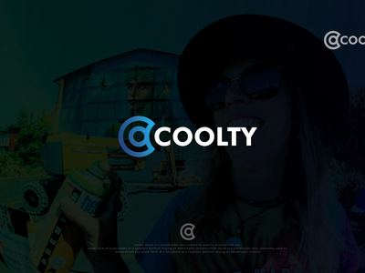 coolty logo logo maker minimal simple logodesign awesome branding creative logo unique elegant professional