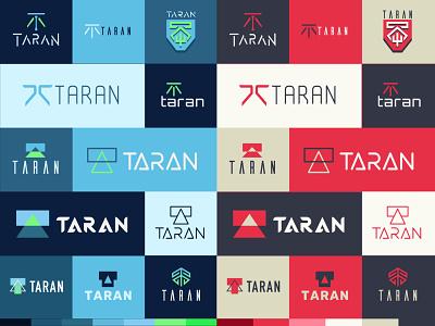 Taran Armstrong Logosheet brand identity brand logo mark red blue vector illustration iconography icons brand design logo design logo