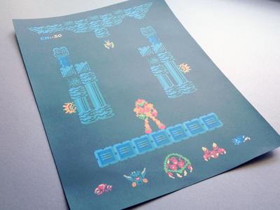 Metroid Print Test