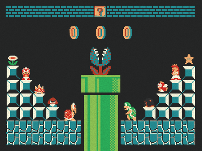 Level 2 Mario WIP