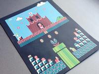 Super Mario Print Test