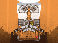 Wall-E Poster WIP