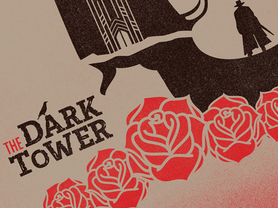 The Dark Tower Screen Print