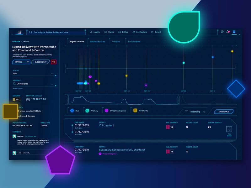 JASK's Sci-Fi Cyber Security Attack Timeline