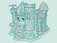 Castle Grayskull Color - WIP