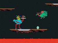 Joust 8-Bit - 1982