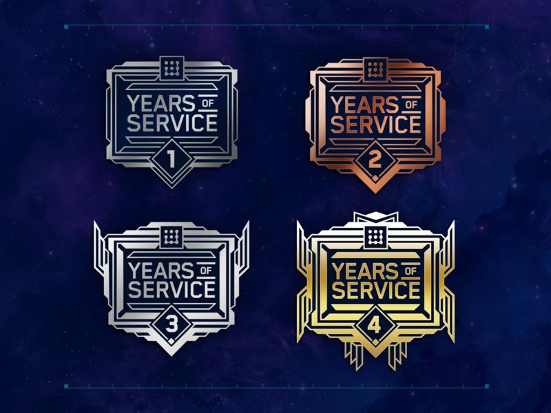JASK Employee Anniversary Pins