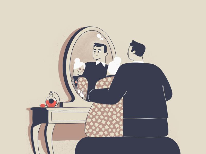 Little Murder - 3 character illustration 2d ipadpro procreate illustration