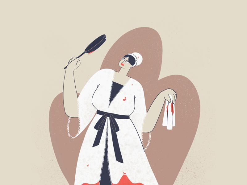 Little Murder - 6 illustration 2d character ipadpro procreate illustration