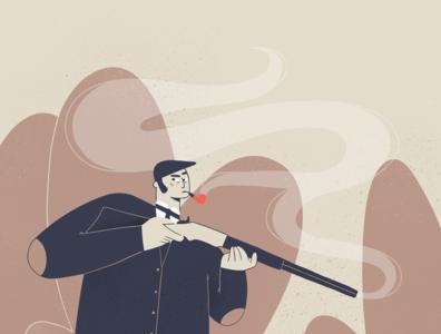 Little Murder - 7 illustration 2d character procreate ipadpro illustration