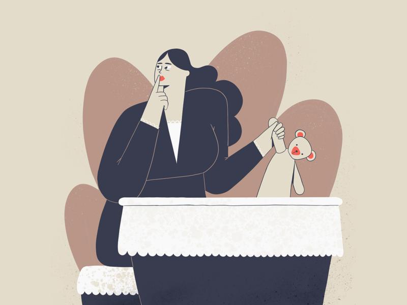 Little Murder - 8 illustration 2d character procreate ipadpro illustration
