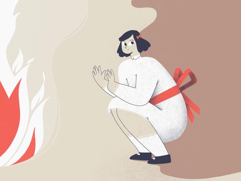 Little Murder - 10 illustration 2d character procreate ipadpro illustration