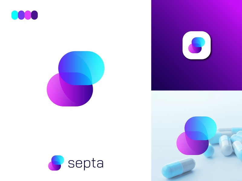 Modern S Letter Logo For Pharmaceuticals Company ultra modern s logo abstract art creative s logo s logo symbol lettermark abstract logo design abstract design i logo idea s logo concept 2020 pharmaceutical logo s letter design s letter logo modern s logo abstract logo colorful logo gradient logo brand identity logo design modern logo