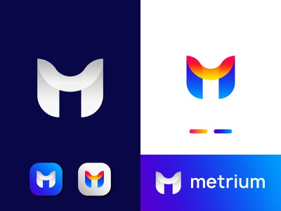 Modern M Letter Logo | Initial M Lettermark startup logo initial logo alphabet m logo m logo concept m logo for business abstract m logo m logo2020 professional m logo creative m letter logo m logo idea m letter design initial m logo m letter logo modern m logo business logo gradient logo colorful logo logo design brand identity modern logo