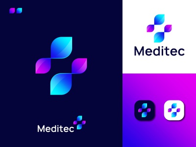 Modern Medical Logo Design | Meditec Logo Design Concept medical icon modern logo design creative tech logo tech logo design medical logo concept abstract medical logo gradient medical logo meditech logo modern medical logo medical logo abstract art professional logo modern lettering branding business logo gradient logo colorful logo logo design brand identity modern logo
