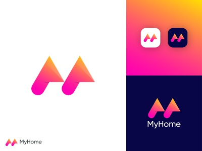 Modern M Letter Logo | M Logo Design graphicdesign letter logo design modern logo designer m logo design m logo with home creative m logo m letter logo abstract m logo m logo modern logo design abstract logo abstract art professional logo modern lettering business logo gradient logo colorful logo logo design brand identity modern logo