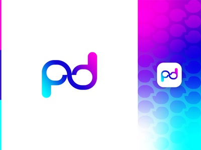 P+D+Chat Logo Combination abstract pd logo pd letter design pd letter logo pd logo letter logo abstract chat logo pd with chat logo chat logo modern pd logo abstract logo abstract art professional logo modern lettering business logo gradient logo colorful logo logo design brand identity modern logo