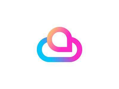 Cloud+Chat abstract chat logo dribbble abstract cloud logo chat with cloud logo gradient chat logo modern cloud logo chat logo cloud logo professional logo logo illustration design modern lettering business logo gradient logo colorful logo logo design brand identity modern logo