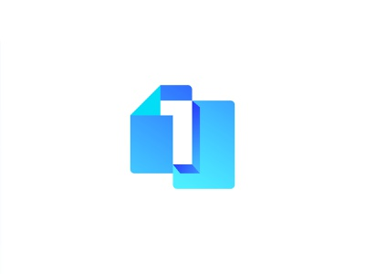 Number 1+Document colorful logo logo design brand identity doc logo onedoc logo one logo numaric one logo one with document logo file logo document logo abstract logo letter logo professional logo gradient logo modern logo branding logo graphic design