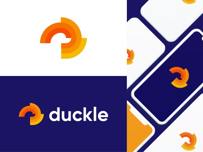 D+Duck d with duck logo d logo duck logomark modern duck logo duck logo idea abstract duck logo abstract logo duck logo illustration design modern lettering business logo gradient logo colorful logo logo design brand identity modern logo branding logo