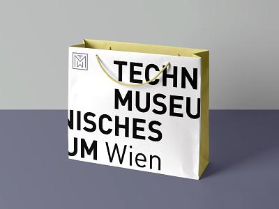 Technical Museum Vienna facelift vector rebrand typography logo design branding