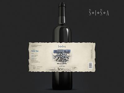 Logo + Wine Label Design grapes vintage design packaging branding graphicdesign concept illustration logodesign wine label logo