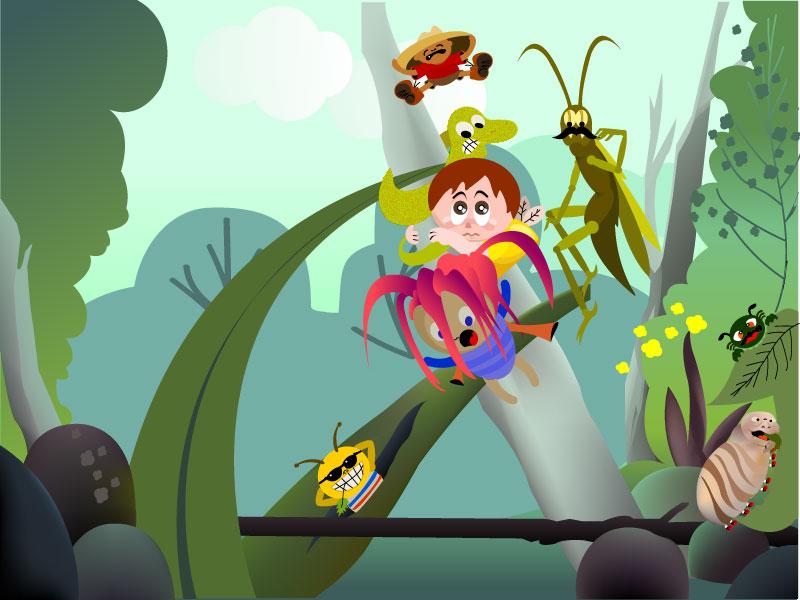 Bugs - Character creation illustrator cc vector illustration design